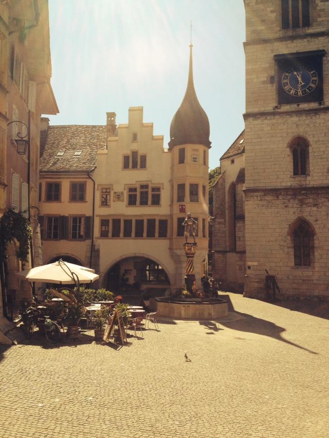 Biel/Bienne old town