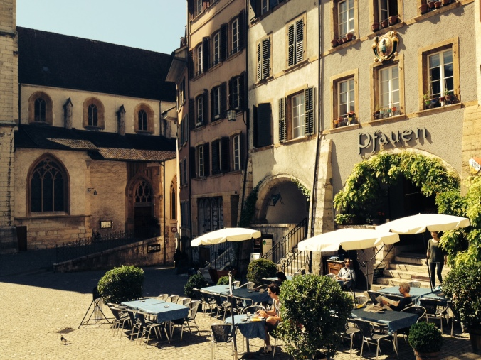 German and French culture intermingle in Biel/Bienne