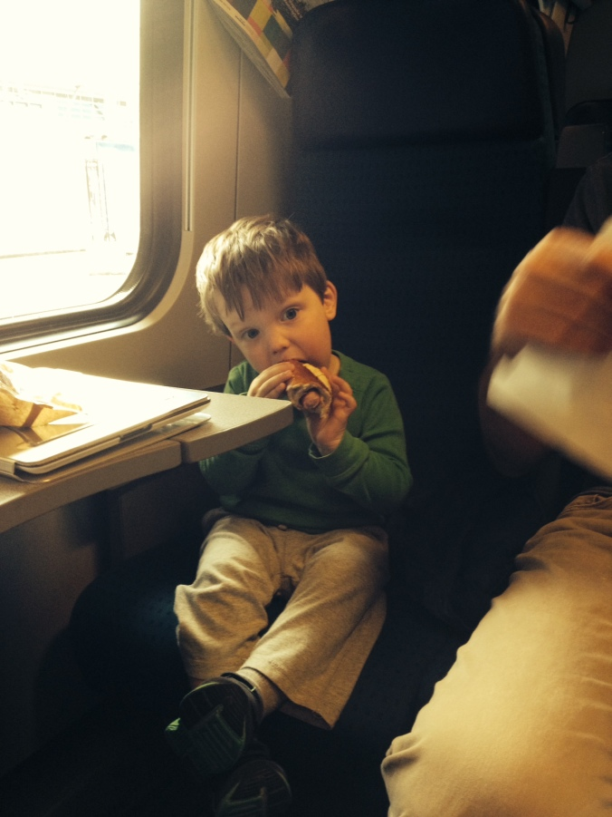 Train travel for kids in Switzerland